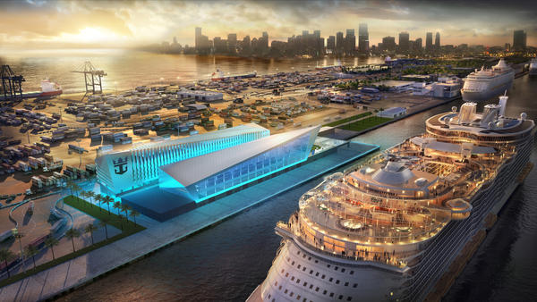 Royal Caribbean wants to build a new $200 million terminal for cruise passengers at the county-owned PortMiami. The county commission is due to vote on the agreement July 6.