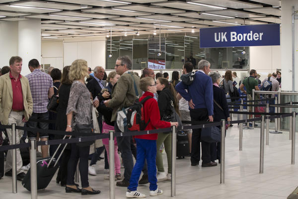 British travelers will now have to queue up with all other international travelers to clear immigration and customs in EU countries, unless a separate deal is negotiated with Europe.