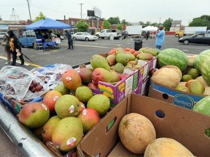 Farmer's markets are just one part of Baltimore's food programs.