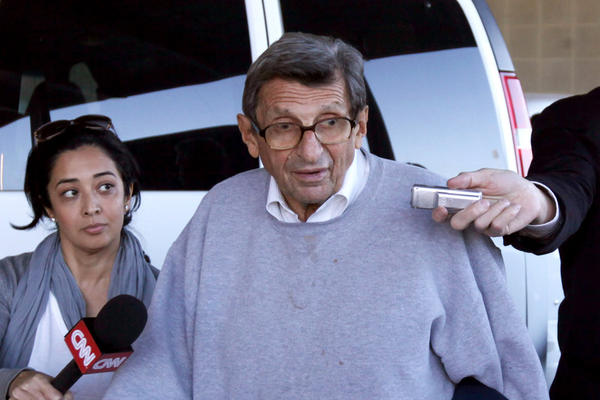 The child sex abuse scandal engulfed Paterno. After 61 years with the university, he was fired on Nov. 9 by Penn State's Board of Trustees.