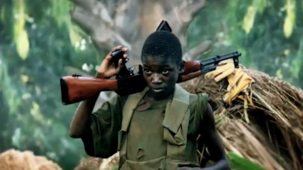 "A screengrab from the ""Kony 2012"" online video about the Central African warlord Joseph Kony, which skyrocketed in popularity after its release in March. It was criticized, then forgotten, just as quickly."