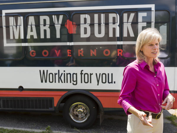 "Democratic gubernatorial candidate Mary Burke says Wisconsin needs a ""change in direction"" to promote job growth."
