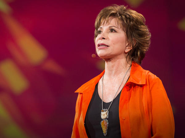 """I don't have to prove anything anymore. I'm not stuck in the idea of who I was, who I want to be, or what other people expect me to be."" - Author Isabel Allende"