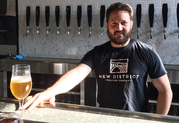 """If you're getting into brewing specifically to make money,"" says Mike Katrivanos, ""I'd advise against it."" Katrivanos is a co-founder of New District Brewing."