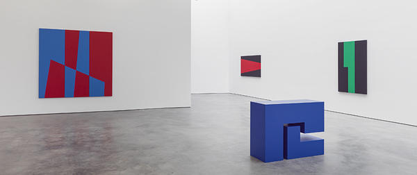 Carmen Herrera's recent exhibit at the Lisson Gallery was her first solo exhibition in the U.S. in nearly 10 years.