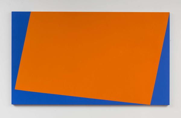 """Whitney curator Dana Miller says that by limiting her colors and using a key set of forms, Herrera """"liberates herself to go deep."""""""