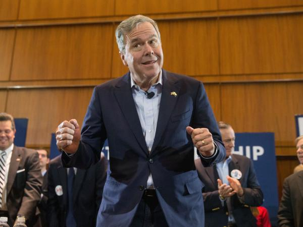 Jeb Bush, the former Florida governor, raked in more money at an earlier point than any Republican candidate.