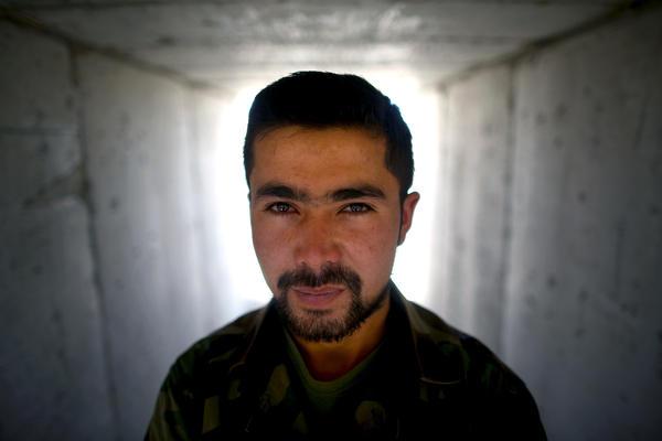 Afghan army 1st Lt. Hayatullah Froton.
