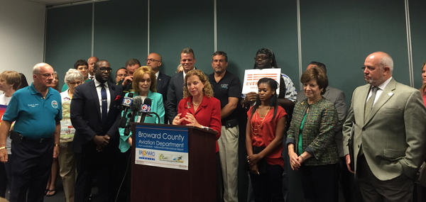 Congresswoman Debbie Wasserman Schultz spoke about House Republicans needing to do their job at Tuesday morning's news conference.