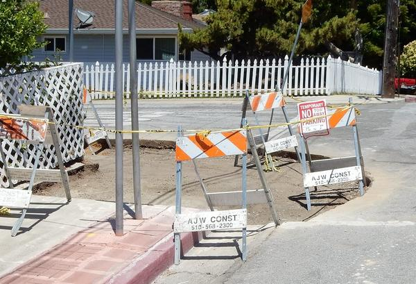 """In late June, Andrew Alden documented the demise of the geologically significant curb. """"It is no more,"""" <a href=""""https://oaklandgeology.wordpress.com/2016/06/27/loss-of-an-icon-the-hayward-faults-roseprospect-curb/"""">he wrote</a>. """"Come back in 20 years."""""""