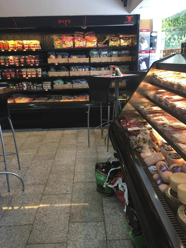 The Fresh Fish Market in Caracas caters to upscale shoppers who can afford the imported goods it carries.