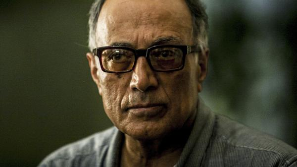 Abbas Kiarostami poses during his visit to the 54th Cartagena Film Festival in 2014. The filmmaker left Iran only twice to make movies.