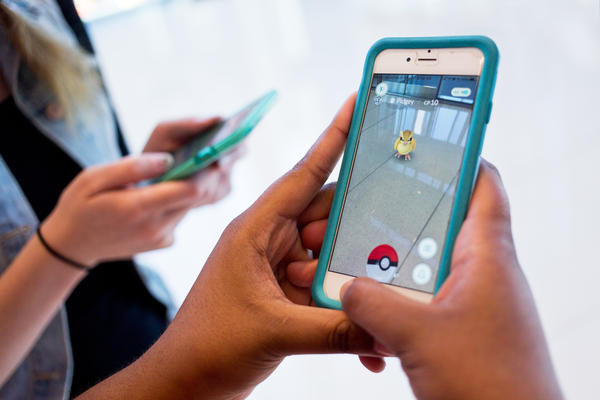 The mobile app Pokémon Go is currently the top-downloaded free app in both Apple and Android stores. The augmented reality game allows smartphone users to track and catch Pokémon in real life.