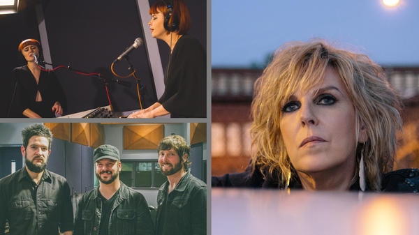 Lucius, The Record Company and Lucinda Williams are featured in this week's <em>World Cafe </em>encore sessions.