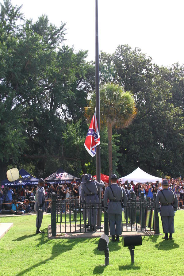 A year ago, the Confederate battle flag was lowered from the South Carolina statehouse grounds.
