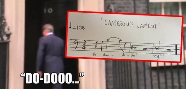 <em>Classic FM</em> editor Daniel Ross' analysis of an intriguing tune hummed by British prime minister David Cameron has set off a small flood of musical inventions, at least among certain music nerds.