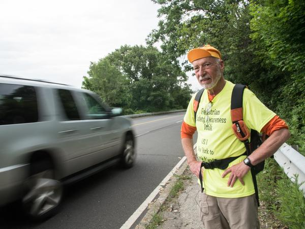 Earlier this summer, Ray Rauth walked the entire coastline of Connecticut to draw attention to the dangers of the Post Road.