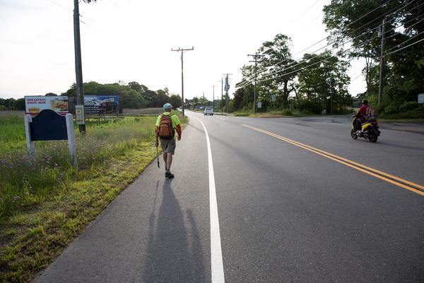 Whatever happens, Rauth will continue making tracks in the name of Connecticut's pedestrians.