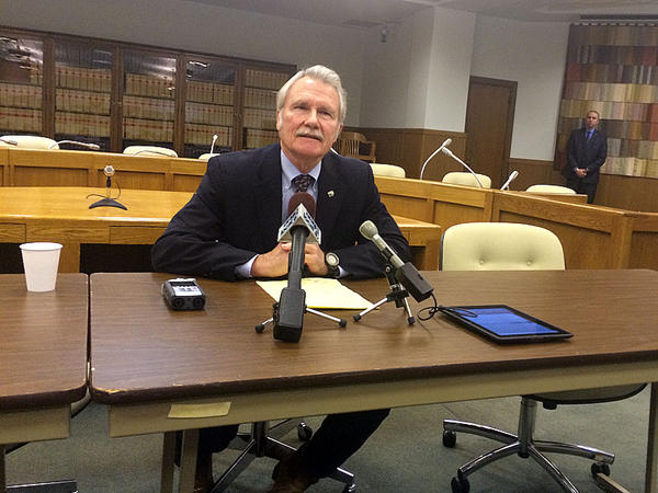 File photo. A federal court has thrown out a subpoena that sought access to personal emails sent by former Oregon Gov. John Kitzhaber.