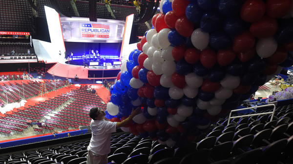 Thursday's rules committee results ensure these convention balloons will drop for Donald Trump.