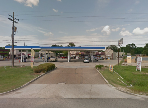The B-Quik on Baton Rouge, where the shooting incident took place. Image from Google Maps, May 2015.