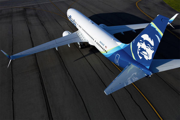 Alaska Airlines reported record net income in the second quarter of 2016.