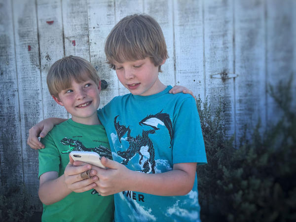 Brogan Heising, 10, and Rourke Heising, 8, really want to play the new popular game Pokémon Go. But living outside of Finley, Washington, in the country that's not an option for their summer break.