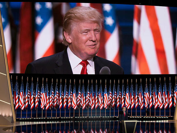 Donald Trump accepted the Republican nomination for president on Thursday, the fourth day of the Republican National Convention, at the Quicken Loans Arena in Cleveland.