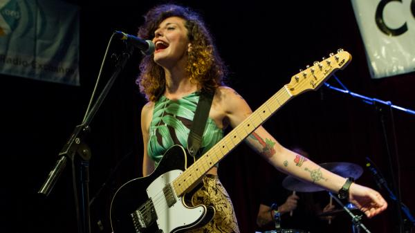 Esmé Patterson performs live at Non-Comm 2016 in Philadelphia.