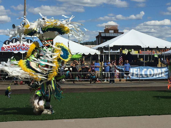 Julyamsh was cancelled in 2015 after a disagreement about Idaho's legalized gaming machines at the powwow's former location. This year's powwow was held at the Kootenai County fairgrounds, nearby a traditional tribal gathering place.