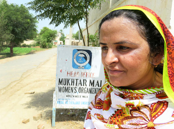 Mukhtar Mai advocates against honor killings and runs a women's shelter and a school for girls in southern Punjab. In 2002, Mai was gang-raped as punishment when her 12-year-old brother was accused of dishonoring another family.