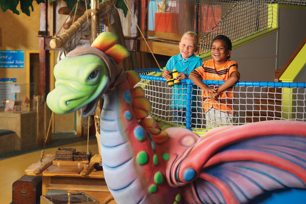 Reading Adventureland at the Strong National Museum of Play, Rochester, N.Y.