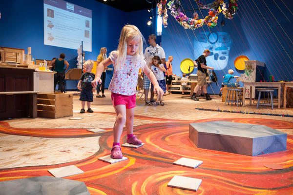 "Creativity Jam at the <a href=""http://www.mcm.org/"">Minnesota Children's Museum</a> in St. Paul, Minn."