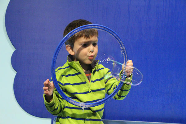 The Bubbles Exhibit at Boston Children's Museum.