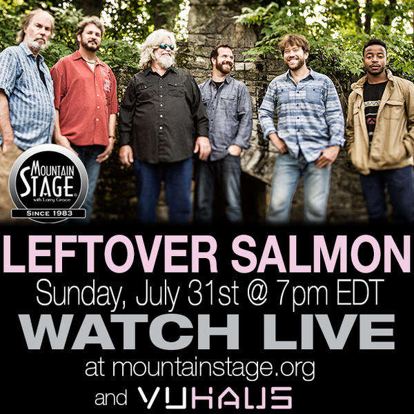 Leftover Salmon return to Mountain Stage on Sunday, July 31.
