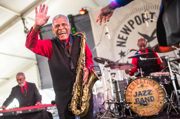 The Preservation Hall Jazz Band brought a taste of New Orleans to Newport.