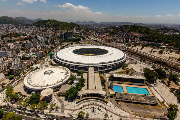 File photo of Maracanã Stadium in Rio de Janeiro, Brazil.