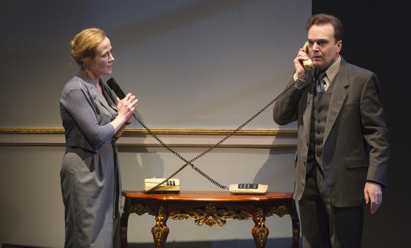 Jennifer Ehle and Jefferson Mays star as Mona Juul and Terje Rød-Larsen. The secret 1993 peace talks in Norway was their idea.