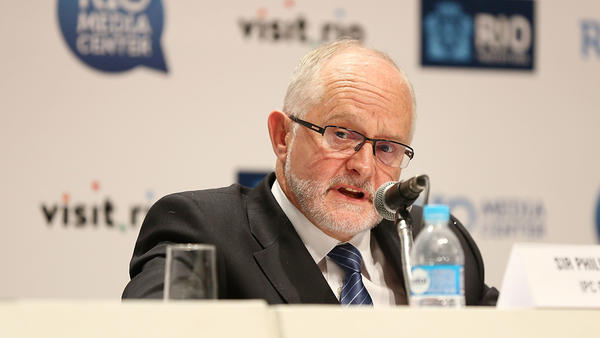 """Sir Philip Craven, president of the International Paralympic Committee, announces Sunday that the entire Russian Paralympic team will be barred from next month's games in Rio de Janeiro. """"The anti-doping system in Russia is broken,"""" he said."""