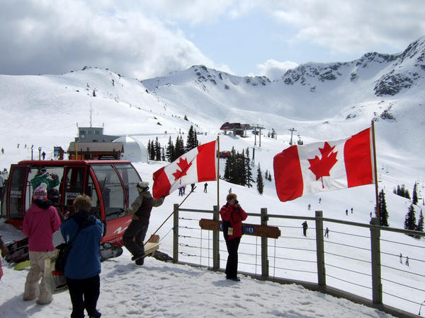 File photo. Whistler Blackcomb hosted the 2010 Winter Olympics and is a popular getaway for Northwest U.S. skiers.