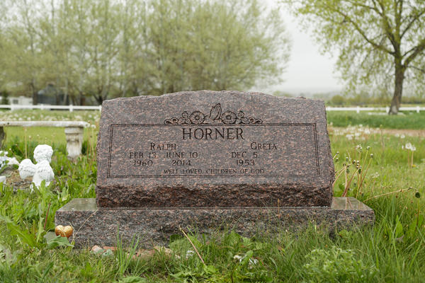 "Ralph ""Ed"" Horner is buried a short drive from his rural Larimer County home."