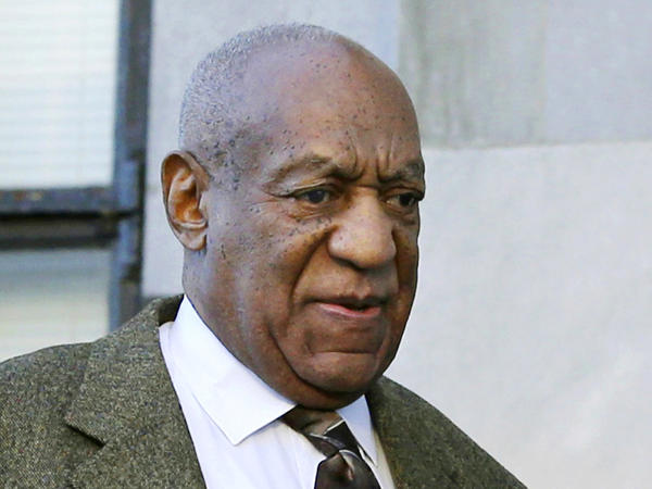 Comedian Bill Cosby outside a Norristown, Pa., courtroom in February. An appeals court has rejected Cosby's effort to reseal his deposition testimony about extramarital affairs, prescription sedatives and payments to women.
