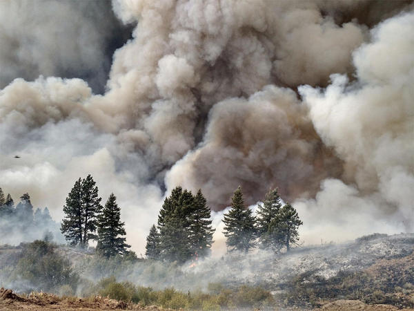 The Pioneer Fire in Boise National Forest has grown to more than 73,000 acres.