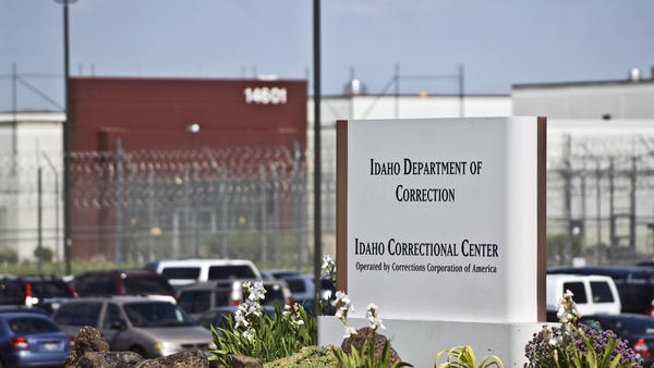 The Idaho Correctional Center south of Boise, Idaho, is a contract facility operated by Corrections Corp. of America. The Justice Department says it's phasing out its relationships with private prisons after a recent audit found they have more safety and security problems than ones run by the government.