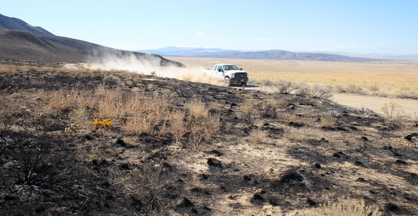 In southeast Washington, the Range 12 wildfire burned 176,600 acres. Much of that was on the Hanford Reach National Monument. Experts say dust storms and mud flows will be a problem until the land heals back.
