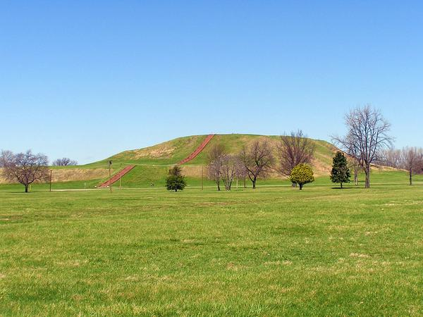 part of Cahokia Mounds State Historic Site