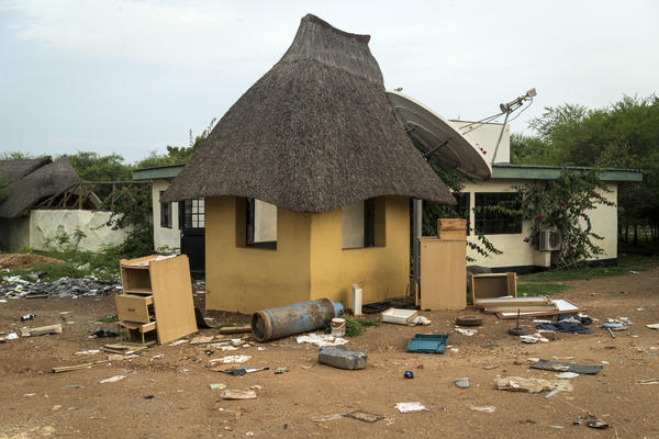 The Terrain Hotel compound was ransacked by South Sudanese troops who went on to attack foreign aid workers who were holed up in the facility.