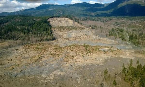 A March 2014 landslide near Oso, Washington, killed 43 people and caused millions of dollars in damages.