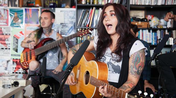 Tiny Desk Concert with Nina Diaz.
