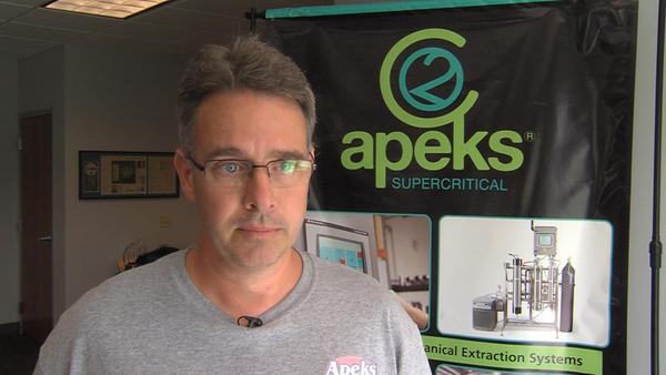 Andy Joseph, President of Apecks Supercritical